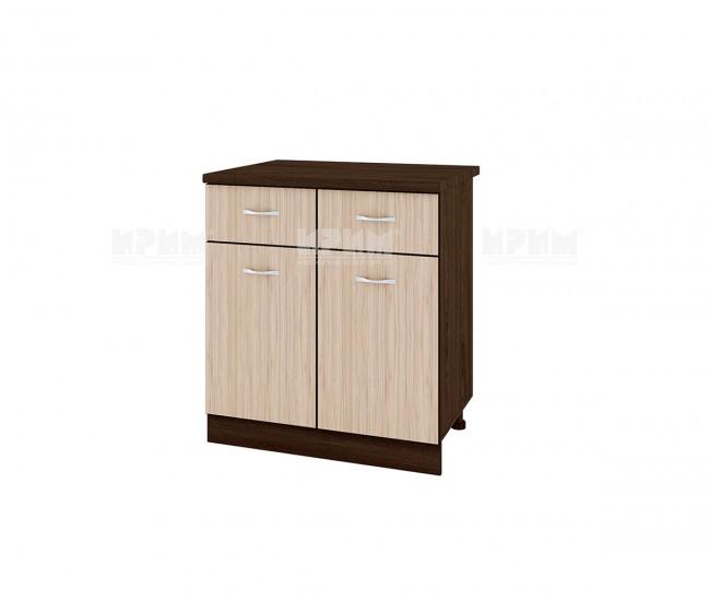 Долен кухненски шкаф Сити ВА-26 с две врати и чекмеджета - 80 см.