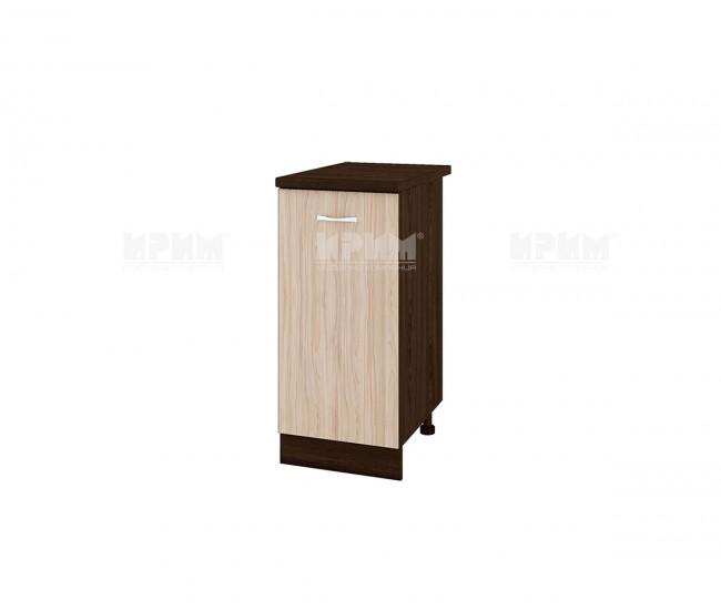 Долен кухненски шкаф Сити ВА-40 с врата и рафт - 35 см.