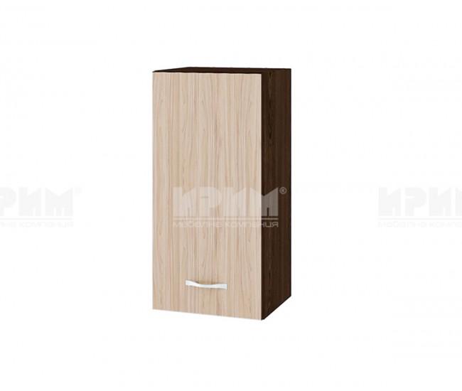 Горен кухненски шкаф Сити ВА-16 с врата и рафт - 35 см.