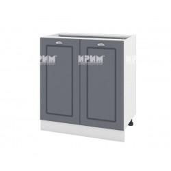 Кухненски долен шкаф Сити БФ-Цимент мат-06-23 МДФ - 80 см.