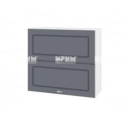 Кухненски горен шкаф Сити БФ-Цимент мат-06-12