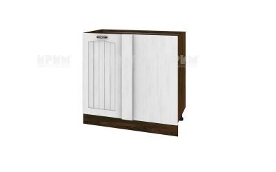 Ъглов кухненски долен шкаф Сити ВФ-04-01-92 ляв