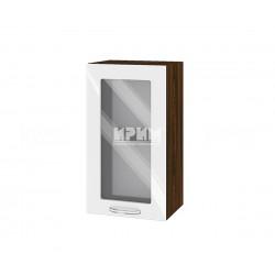 Кухненски горен шкаф Сити ВФ-Бяло гланц-05-202 МДФ - 40 см.