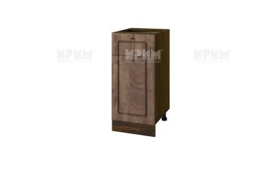 Кухненски долен шкаф Сити ВФ-06-11-74 ляв