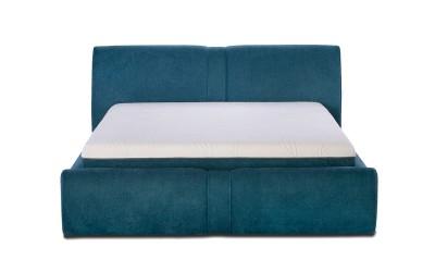 Тапицирано легло Felini с матрак, подматрачна рамка и ракла