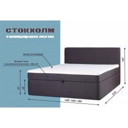 Спалня Стокхолм с матрак