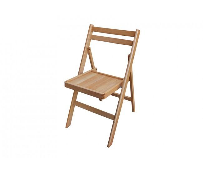 Сгъваем стол Ангел без тапицерия - Бук