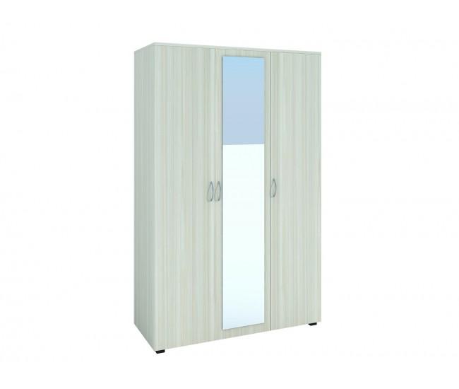 Трикрилен гардероб с огледало №8 - по поръчка