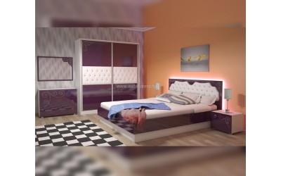 спалня с LED