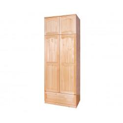Двукрилен гардероб Масив 1