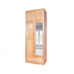 Двукрилен гардероб Масив 2