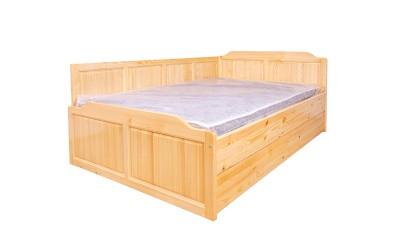 Легло масив Приста 41 - с 2 бр. чекмеджета