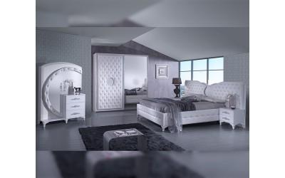 Луксозен спален комплект Antalia White