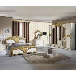 Луксозен спален комплект Eva Bianco Gold