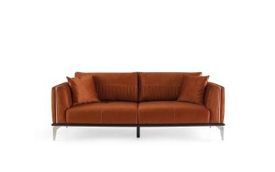 Троен диван CARMEN - с функция сън - керемида