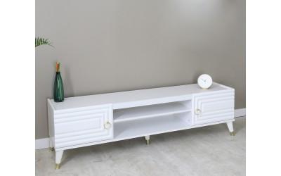 ТВ шкаф LUCKY - бял