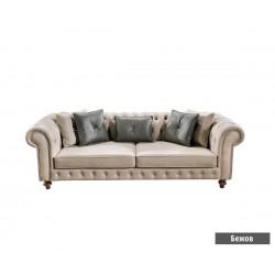 Троен диван CHESTER с функция сън
