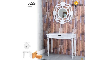 Тоалетка с огледало Ada