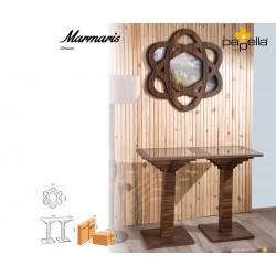 Тоалетна масичка Marmaris с огледало - Орех