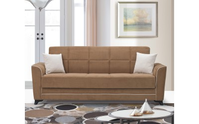 Луксозен клик-клак диван DREAM с ракла - бежов