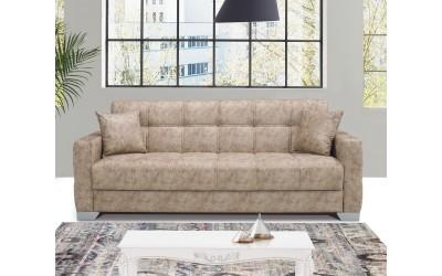 Луксозен клик-клак диван JANA с ракла - бежов