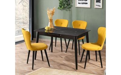 Комплект маса VENUS 1105 и столове LOREN 2106