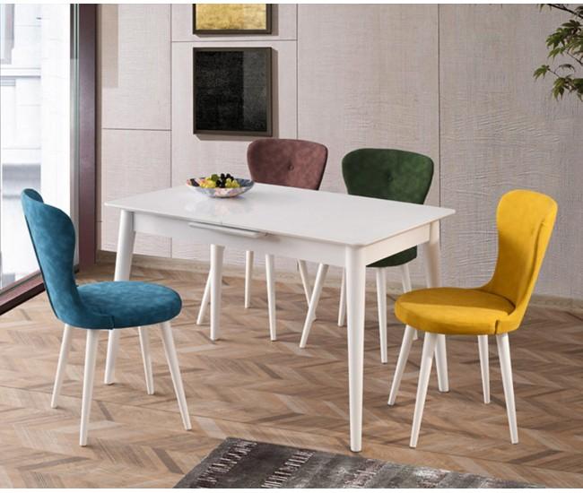 Трапезна маса  с четири стола