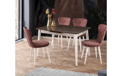 Комплект маса VENUS 1107 и столове LOREN 2113