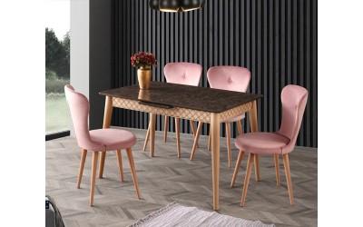 Комплект маса VENUS 1113 и столове LOREN 2119