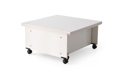 Холна маса с повдигащ механизъм Sihirli 930 - Бяла