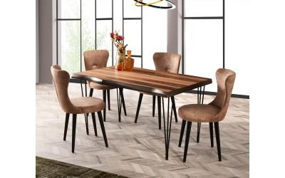 Комплект маса Inka Kutuk 566 със столове Ela 380
