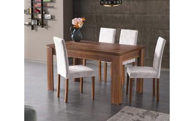 Комплект маса Nesil 521 със столове Nova 120