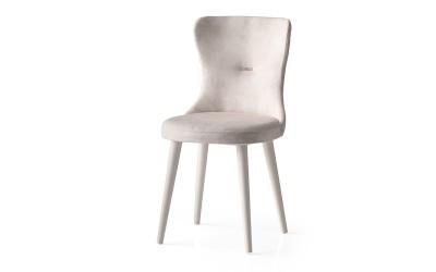 Трапезен стол Ela 354 - Бял