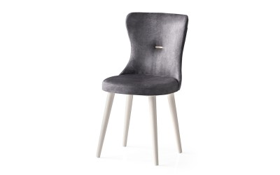 Трапезен стол Ela 360 - Сив