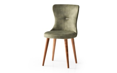 Трапезен стол Ela 365 - Зелен
