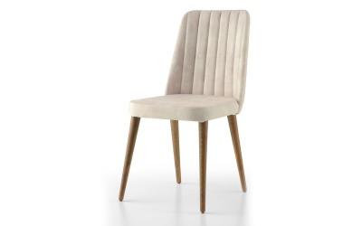 Трапезен стол Milano 140 - Бял