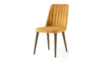 Трапезен стол Milano 142 - Жълт