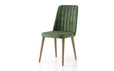 Трапезен стол Milano 143 - Зелено
