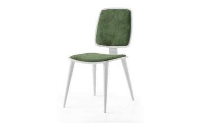 Трапезен стол Retro 333 - Зелен